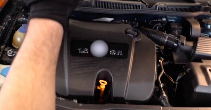 Cómo cambiar Correa Poly V en un Golf 4 1997 - Manuales en PDF y en video gratuitos