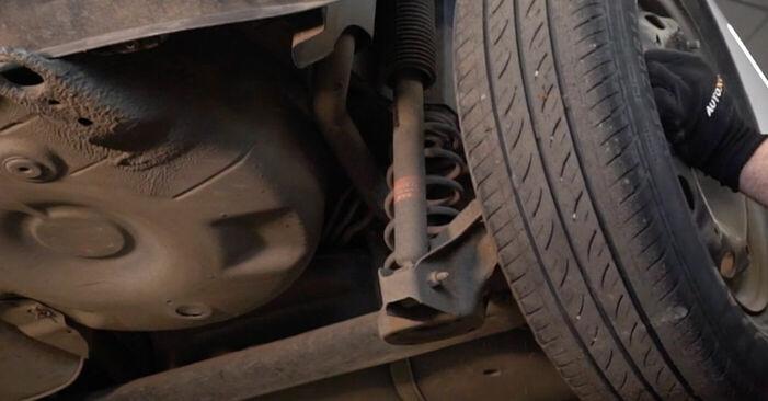 Como remover VW POLO 1.9 TDI 2005 Rolamento da Roda - instruções online fáceis de seguir