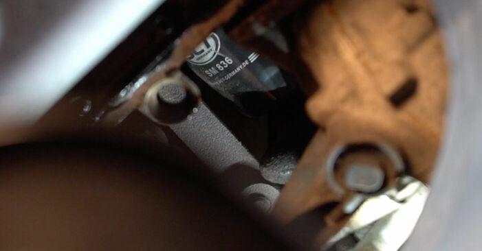 VW POLO 2008 Filtre à Huile manuel de remplacement étape par étape