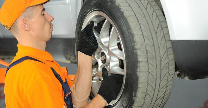 Πώς να αντικαταστήσετε VW PASSAT Variant (3B6) 1.9 TDI 2001 Βάση Αμορτισέρ - εγχειρίδια βήμα προς βήμα και οδηγοί βίντεο