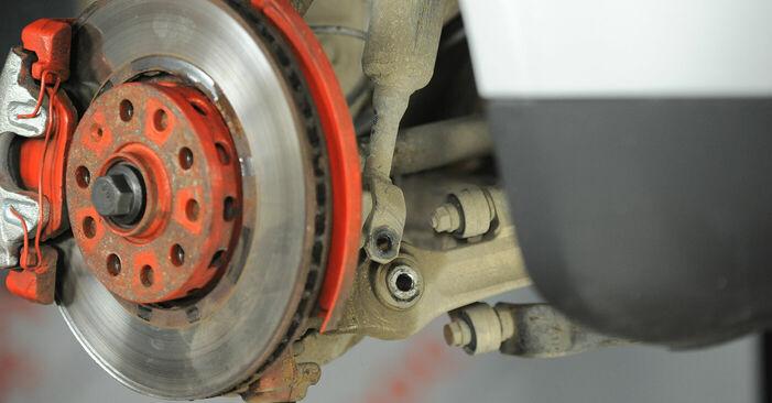 πώς αλλαγη VW PASSAT 1.6 2004 Βάση Αμορτισέρ -online ευκολονόητες οδηγίες