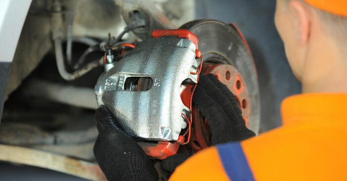 Wie schwer ist es, selbst zu reparieren: Radlager Passat 3B6 2.0 TDI 2000 Tausch - Downloaden Sie sich illustrierte Anleitungen
