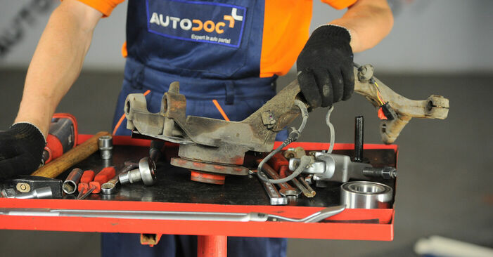 Radlager Passat 3B6 1.9 TDI 4motion 2002 wechseln: Kostenlose Reparaturhandbücher