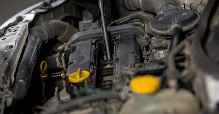 Quão difícil é efetuar a substituição de Vela de Ignição no Opel Corsa C 1.7 DI (F08, F68) 2006 por si mesmo - descarregue o guia ilustrado