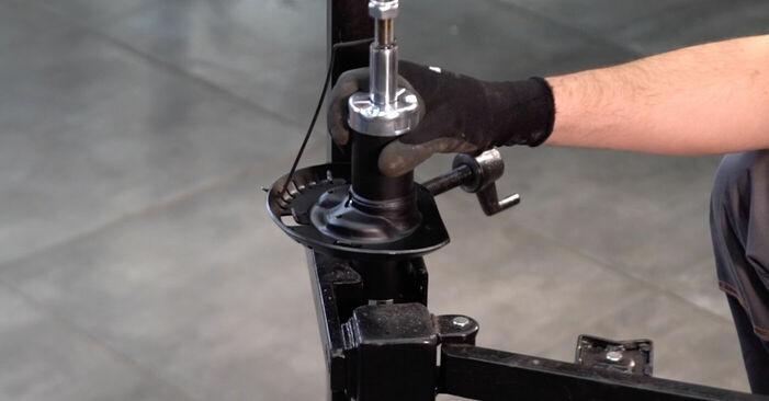 Come sostituire VW POLO (9N_) 1.4 16V 2002 Ammortizzatori - manuali passo passo e video guide