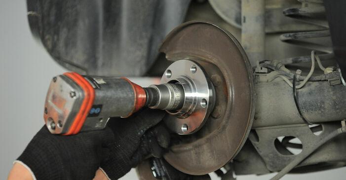 Stufenweiser Leitfaden zum Teilewechsel in Eigenregie von Polo 9n 2002 1.9 TDI Radlager