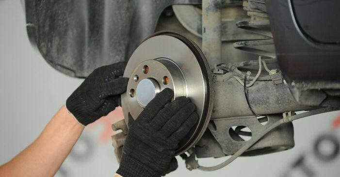 Wie man VW POLO (9N_) 1.4 16V 2002 Radlager wechselt - Schritt-für-Schritt-Leitfäden und Video-Tutorials
