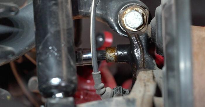 Byt GOLF VI (5K1) 1.4 2007 Bromsskivor – gör det själv med verkstadsmanual