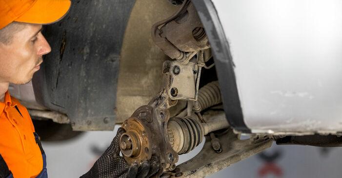 Wie Radlager Opel Corsa C 1.2 (F08, F68) 2000 tauschen - Kostenlose PDF- und Videoanleitungen