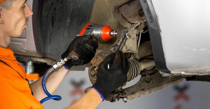 Radlager Opel Corsa C 1.3 CDTI (F08, F68) 2002 wechseln: Kostenlose Reparaturhandbücher