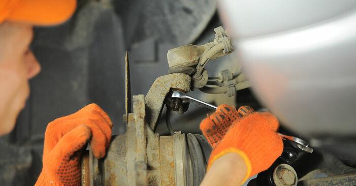 M-CLASS (W163) ML 430 4.3 (163.172) 2001 Rattalaager DIY töökoja vahetamiskäsiraamat