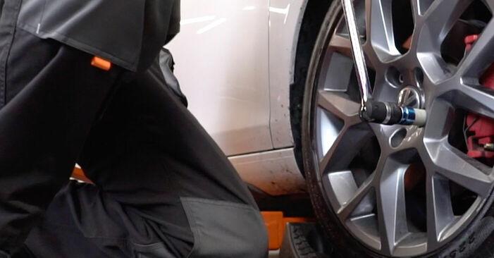 Golf 6 2.0 TDI 2009 Bremsscheiben wechseln: Gratis Reparaturanleitungen