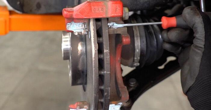 Zweckdienliche Tipps zum Austausch von Bremsbeläge beim VW GOLF VI (5K1) 1.4 TSI 2003