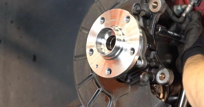 GOLF VI (5K1) 1.4 2007 Radlager - Tutorial zum selbstständigen Teilewechsel