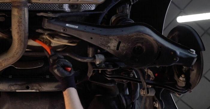 Så byter du Länkarm på VW GOLF VI (5K1) 2008: ladda ned PDF-manualer och videoinstruktioner