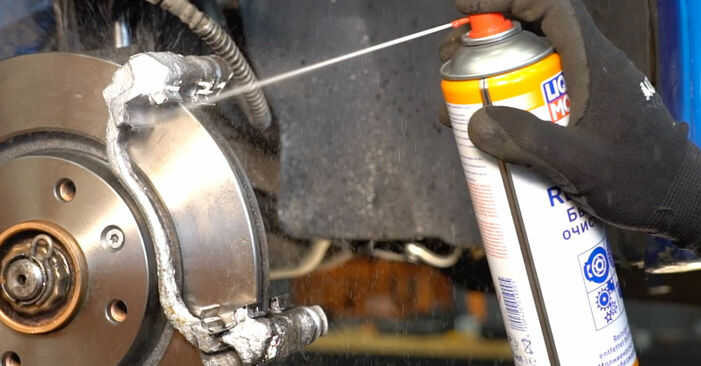 206 CC (2D) 1.6 16V 2009 2.0 S16 Bremsbeläge - Handbuch zum Wechsel und der Reparatur eigenständig