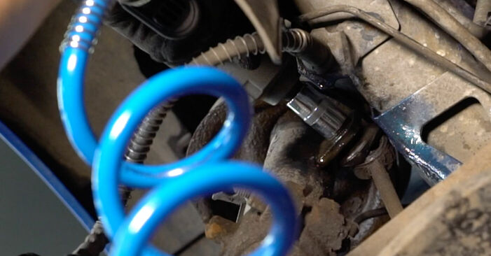 Wie Stoßdämpfer Peugeot 206 cc 2d 1.6 16V 2000 tauschen - Kostenlose PDF- und Videoanleitungen