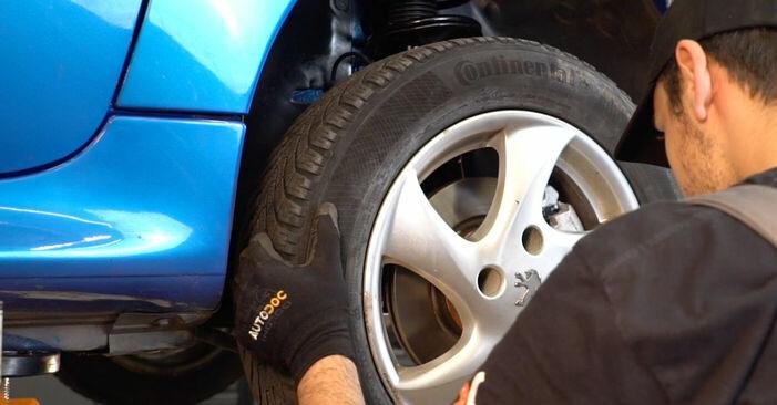 Querlenker Ihres Peugeot 206 cc 2d 1.6 16V 2006 selbst Wechsel - Gratis Tutorial