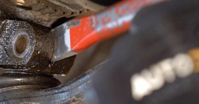 Wie schwer ist es, selbst zu reparieren: Federn Peugeot 206 cc 2d 1.6 HDi 110 2004 Tausch - Downloaden Sie sich illustrierte Anleitungen
