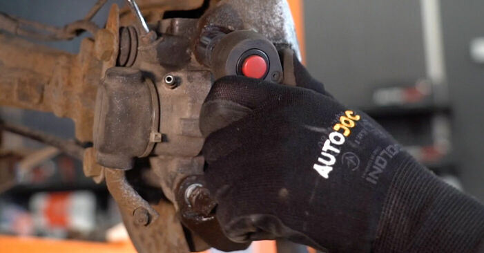 206 CC (2D) 1.6 16V 2009 Wheel Bearing DIY replacement workshop manual