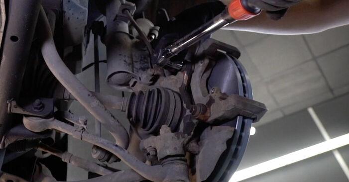 Byt Bromsskivor på BMW E53 2002 3.0 d på egen hand