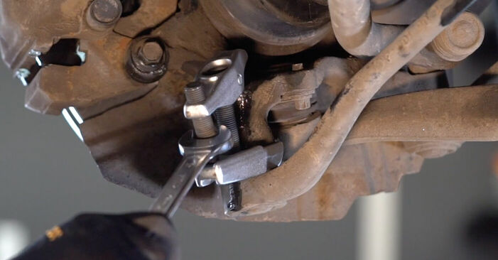 Changing of Control Arm on BMW E53 2000 won't be an issue if you follow this illustrated step-by-step guide