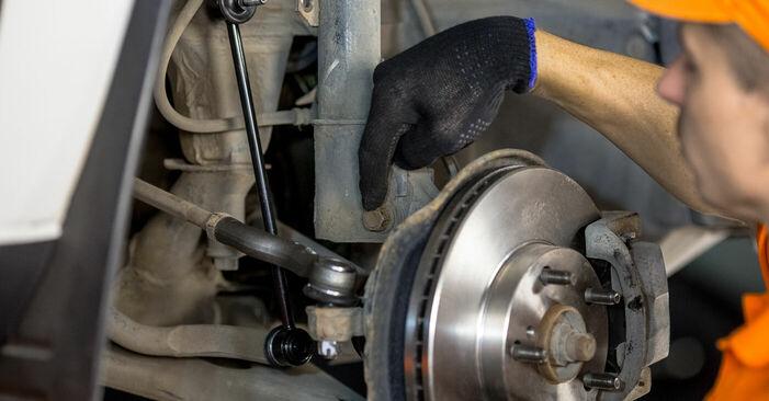 La sostituzione di Ammortizzatori su Toyota Rav4 II 2002 non sarà un problema se segui questa guida illustrata passo-passo
