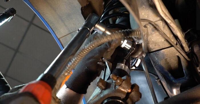 Austauschen Anleitung Koppelstange am Peugeot 206 cc 2d 2008 1.6 16V selbst