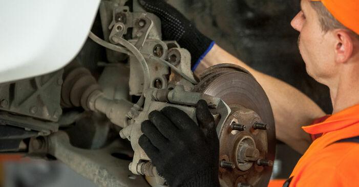 Schritt-für-Schritt-Anleitung zum selbstständigen Wechsel von Toyota Rav4 II 2001 2.4 4WD Domlager