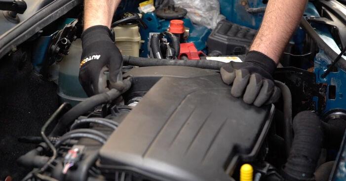 Wie Luftfilter Renault Kangoo kc01 D 65 1.9 1997 tauschen - Kostenlose PDF- und Videoanleitungen