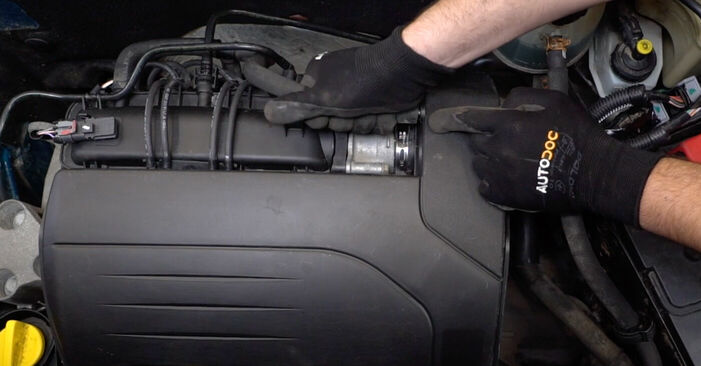 Zündkerzen Renault Kangoo kc01 1.5 dCi 1999 wechseln: Kostenlose Reparaturhandbücher
