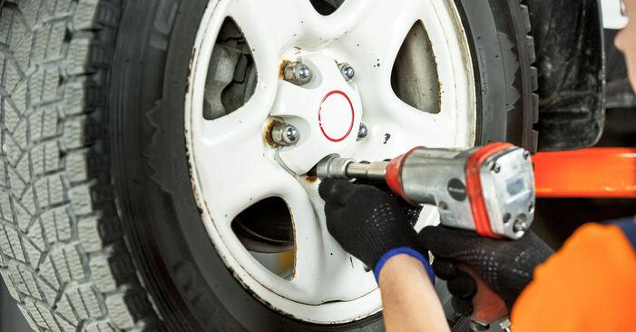 Bremsscheiben Toyota Rav4 II 1.8 (ZCA25_, ZCA26_) 2002 wechseln: Kostenlose Reparaturhandbücher