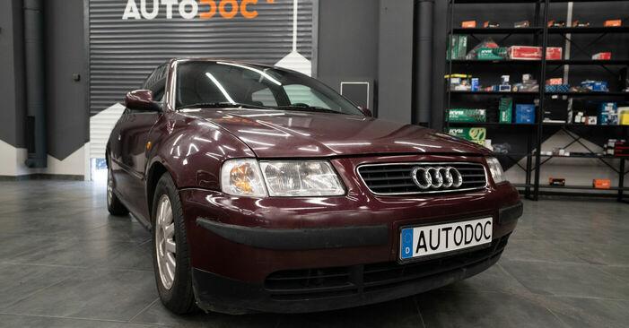 Wie schwer ist es, selbst zu reparieren: Koppelstange Audi A3 8l1 1.9 TDI 2002 Tausch - Downloaden Sie sich illustrierte Anleitungen