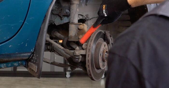 Combien de temps dure le remplacement : Coupelle d'Amortisseur sur Renault Kangoo kc01 2005 - manuel PDF informatif