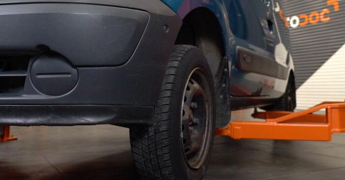 Koppelstange Renault Kangoo kc01 1.5 dCi 1999 wechseln: Kostenlose Reparaturhandbücher