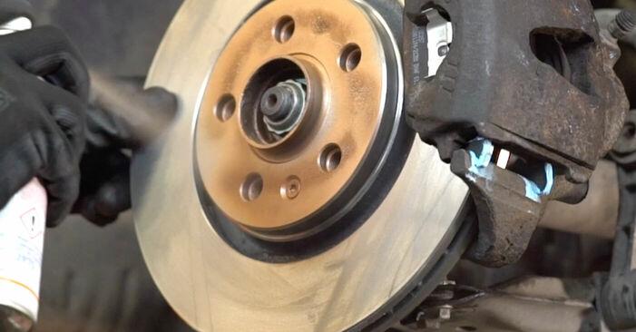 Bremsbeläge Audi A3 8l1 1.6 1998 wechseln: Kostenlose Reparaturhandbücher