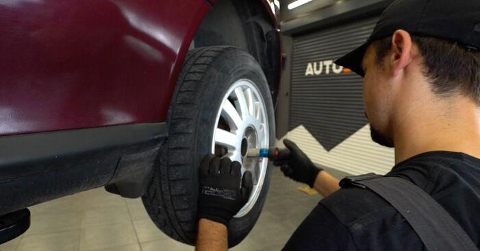 Wie AUDI A3 1.8 2000 Bremsbeläge ausbauen - Einfach zu verstehende Anleitungen online