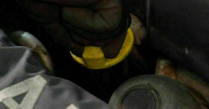 Schimbare Opel Corsa C 1.0 (F08, F68) 2002 Filtru ulei: manualele de atelier gratuite