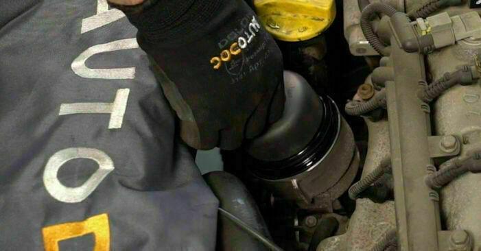 Cât durează înlocuirea: Filtru ulei la Opel Corsa C 2008 - manualul informativ în format PDF