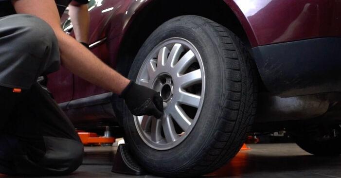 Bremsscheiben Audi A3 8l1 1.6 1998 wechseln: Kostenlose Reparaturhandbücher