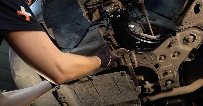 FIAT BRAVO II (198) 1.6 D Multijet 2008 Anti Roll Bar Links replacement: free workshop manuals