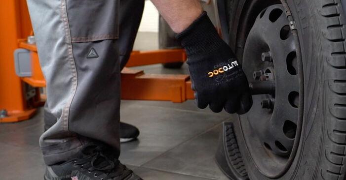 Bremsbeläge Opel Corsa C 1.3 CDTI (F08, F68) 2002 wechseln: Kostenlose Reparaturhandbücher