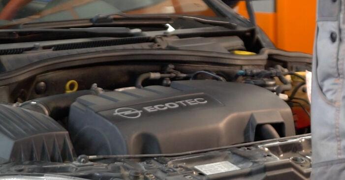 Cum schimbare Arc spirala la Opel Corsa C 2000 - manualele în format PDF și video gratuite