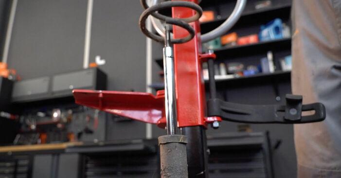 Manualul de atelier pentru înlocuirea de sine stătătoare Corsa C Hatchback (X01) 1.7 DTI (F08, F68) 2001 Arc spirala