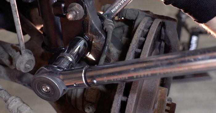 Recomandările pas cu pas pentru înlocuirea de sine stătătoare Opel Corsa C 2003 1.7 DTI (F08, F68) Arc spirala