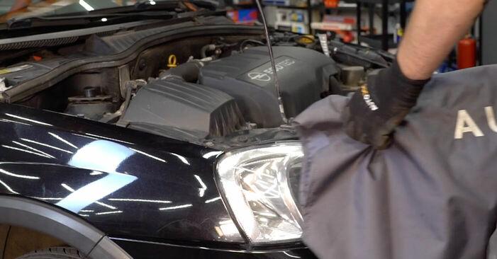Cât durează înlocuirea: Arc spirala la Opel Corsa C 2008 - manualul informativ în format PDF