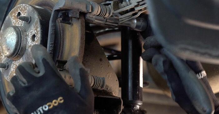 Svépomocná výměna Lozisko kola na autě FIAT BRAVO II (198) 2016 1.9 D Multijet