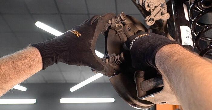 BRAVO II (198) 1.4 LPG 2017 Lozisko kola svépomocná výměna díky návodu z naší dílny