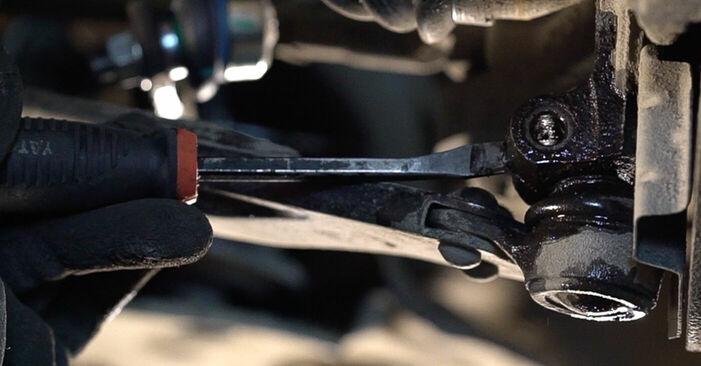 Stapsgewijze aanbevelingen om zelf FIAT BRAVO II (198) 2019 1.4 LPG Draagarm vervangen