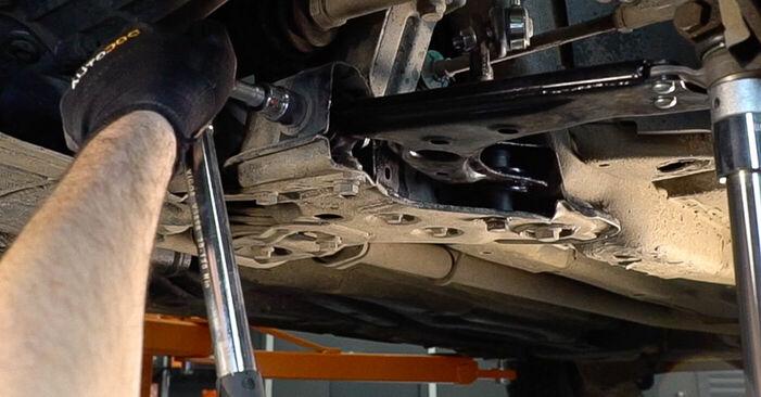 FIAT BRAVA 1.4 Draagarm vervangen: online handleidingen en tutorials